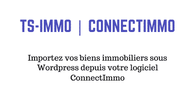 Passerelle Connect Immo pour WordPress