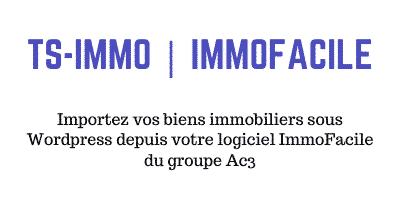 Passerelle ImmoFacile – Ac3 pour WordPress