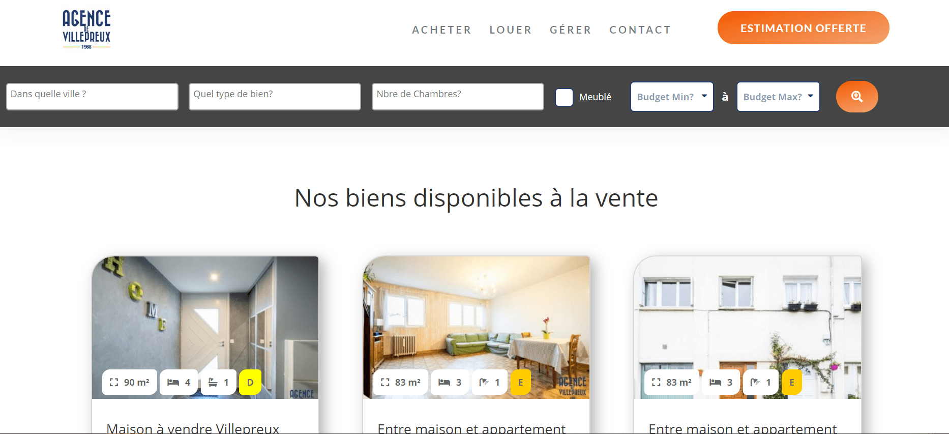 Agence de Villepreux - Passerelle Divi - Netty